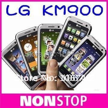 Original LG KM900 Cell phone 3G Quad-Band 5MP WiFi GPS Unlock Mobile Phone(China (Mainland))