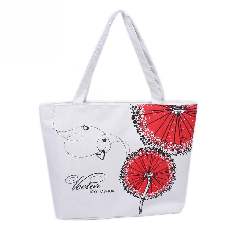 Hot Women Lady Flower Pattern Shopping Handbag Shoulder Bags Tote Bag Casual(China (Mainland))