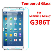 0.3mm 9H 25D Front Premium Tempered Glass Samsung Galaxy Core LTE 4G SM-G386F G386F G386T Screen Protector Film - SHENZHEN HE YAN Original Mobile Phone Store store
