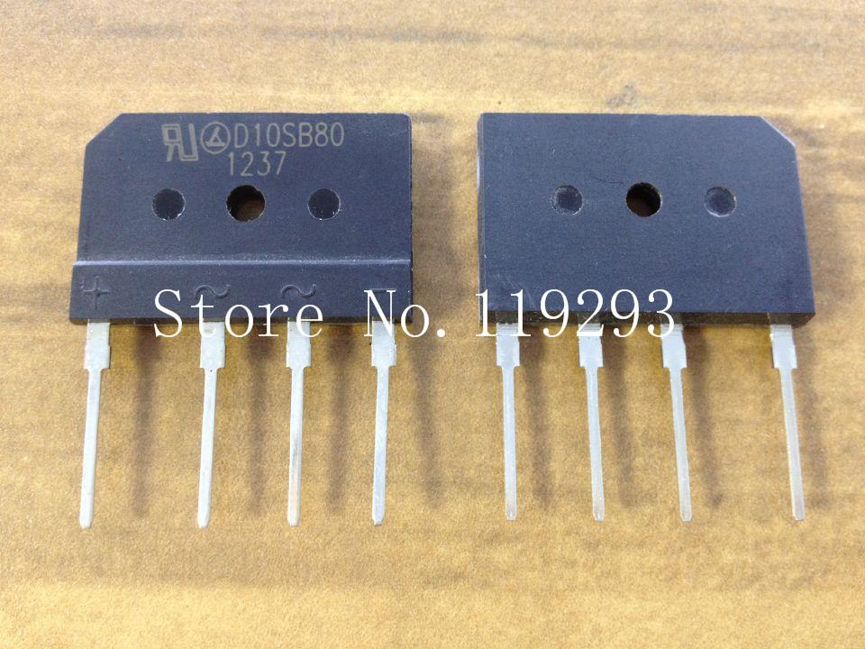 Здесь можно купить  [SA]Leshan D10SB80 rectifier diode 10A 800V rectifier bridge reactor--100pcs/lot  Электротехническое оборудование и материалы