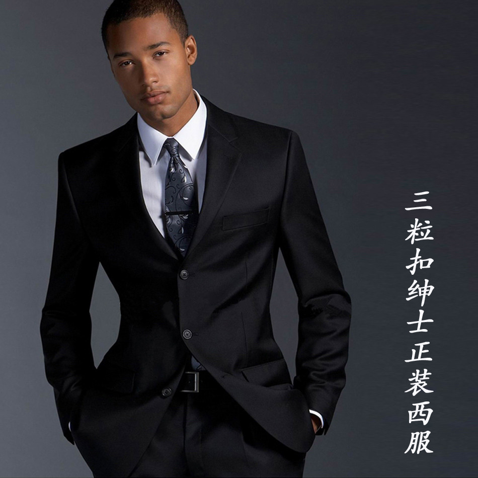 suit cover Picture - More Detailed Picture about Black male three