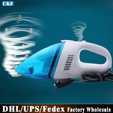 Free DHL Fedex 20pcs/lot T004 Rechargeable Portable Car Vacuum Cleaner Wet And Dry Dual-use(China (Mainland))