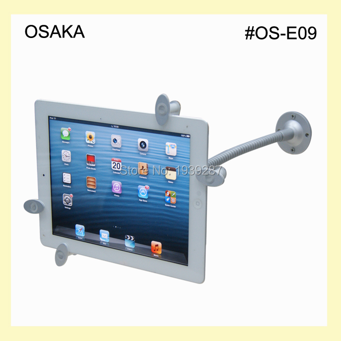 tablet wall mount security lock mounting 9 to 10.1 inch universal(China (Mainland))