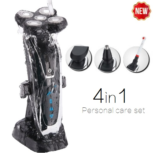 high quality original 5D Electric Shaver Electric Razor For Men kemei Rechargeable wet&dry beard Shaving Machine Waterproof(China (Mainland))