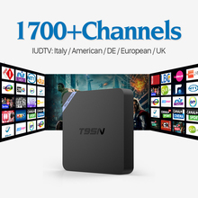Buy Android 6.0 IPTV Set Top Box Italy UK DE European Smart TV Box Spain Portugal Turkish Russia Set Top Box Free for $61.90 in AliExpress store