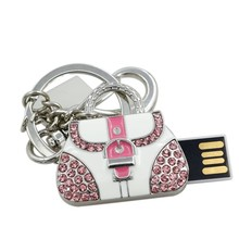 New Arrival Garunk USB Flash Drive 64G Diamond Bag 32GB Pen Drive Metal Bag 16GB 8GB Metal Flash Drive Gift 4GB USB 2.0 Pendrive(China (Mainland))