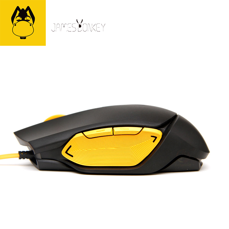 New James Donkey 112 USB 2.0 Gaming Wired Mouse 3-stage Speed with Free Driver Perfect lighting system Comfortable Hand Feeling(China (Mainland))