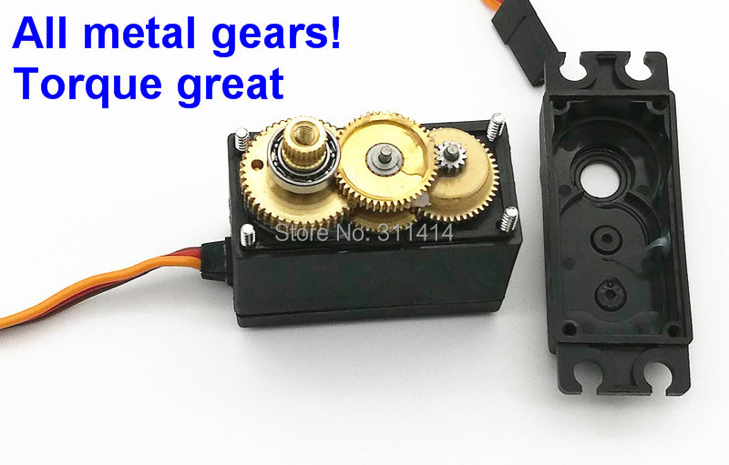 Buy 2pcs Lot Servo 360 Degree Continuous