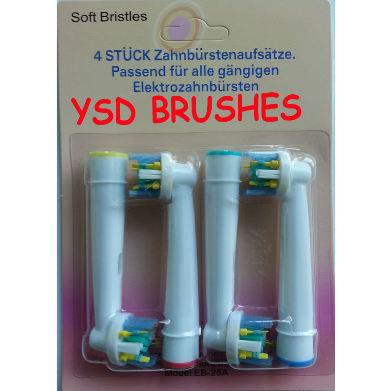 Wholesale 4800PCS B TOOTHBRUSH HEADS ORAL REPLACEMENT VITALITY FLOSS ACTION(China (Mainland))
