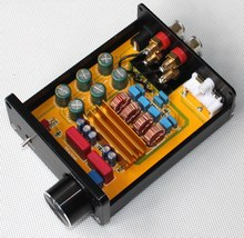 2017 NEW K.GuSS GU50 HIFI 2.0 class D TPA3116 Mini borne audio power amplifier amplificador 2 * 50 w DC18V to DC24V(China (Mainland))