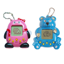 2PCs/lot Electronic pet game E-pet Gift Toy Game Machine for Tamagochi Chess game ,brinquedo, pet game machine send battery(China (Mainland))