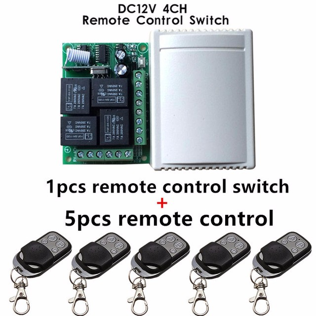 433Mhz-Universal-Wireless-Remote-Control-Switch-DC12V-4CH-relay-Receiver-Module-and-5pcs-4-channel-RF.jpg_640x640