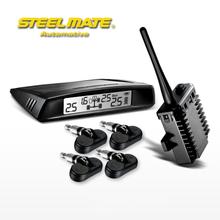 Steelmate TP-V1 TPMS Sensor Trailer Tire Pressure Monitoring System Internal Sensor USB Car Charger  Car Styling Car Accessories(China (Mainland))