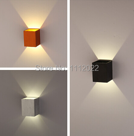 led wall lamp light with 1 lights for home lighting 3w led wall lamp