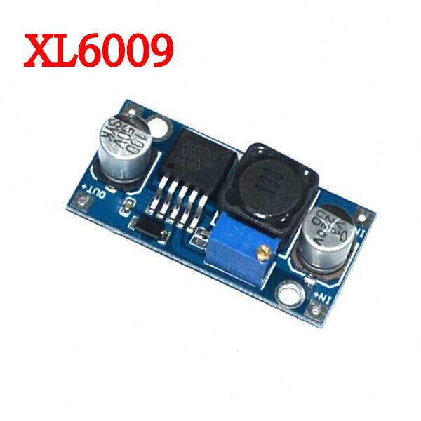 1pcs XL6009 DC-DC Booster module Power supply module output is adjustable Super LM2577 step-up module(China (Mainland))