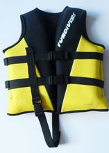 fundivers water sports yellow  swim kids life vest  nopene life jackt  (China (Mainland))