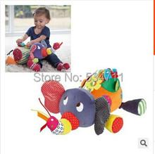 Free shipping Multifunction puzzle stuffed animals toys elephant / lion(China (Mainland))