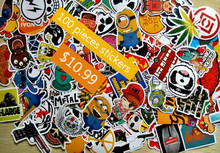 100Pcs Home decor jdm car sticker on car styling laptop sticker decal motorcycle skateboard doodle stickers for car accessories