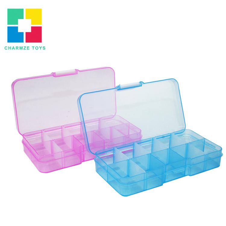 small plastic Storage box mini box for Diamond Blocks Small nails(China (Mainland))