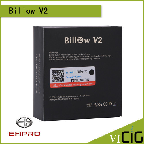 100 Original EHPRO Billow V2 RBA 5ml Billow v2 Rda tank with 510 thread rebuildable Billow