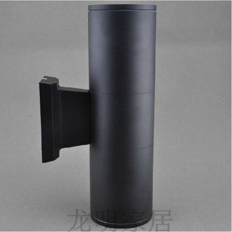 Quality Outside Wall Lights : Quality outdoor lighting wall lamp led light source cylindrical light balcony aisle aluminum ...