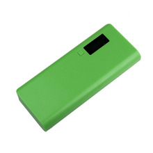 Hot Sale 5V 2A 18650 Power Bank 4 Battery Box Charger For iphone6 Cellphone Phone  Free Shipping