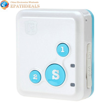 Portable RF-V16 Real-Time GPS Tracker Mini & SOS Communicator for Kids Child Elderly Personal GSM / GPRS / GPS Tracking Device(China (Mainland))