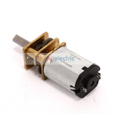 Mini gear motor high torque axial length 10mm dc 6v 70rpm Miniature gear motors
