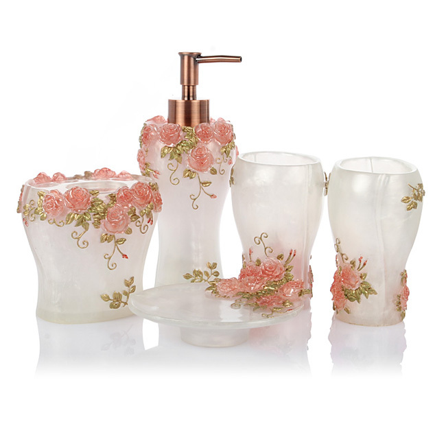 2015 fashion luxury bathroom accessories set free shipping for G style bathroom accessories