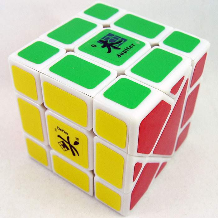 Dayan Bermuda Triangle Magic Cube White (Jupiter)<br><br>Aliexpress