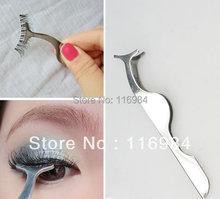 1pcs x HOT Sale Beauty Tool False eyelashes Applicator Remover Tweezer Clip(China (Mainland))