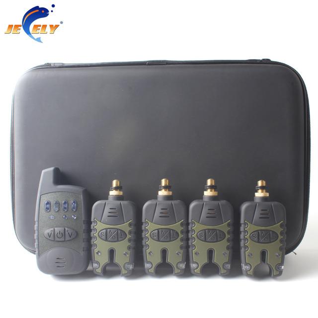 Free shipping JY-33 Carp Fishing Alarm Bite Alarm Wireless set