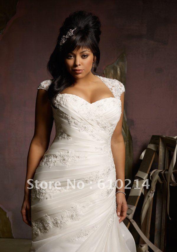 2012 hot selling sheath column plus size wedding dresses for Us size wedding dresses