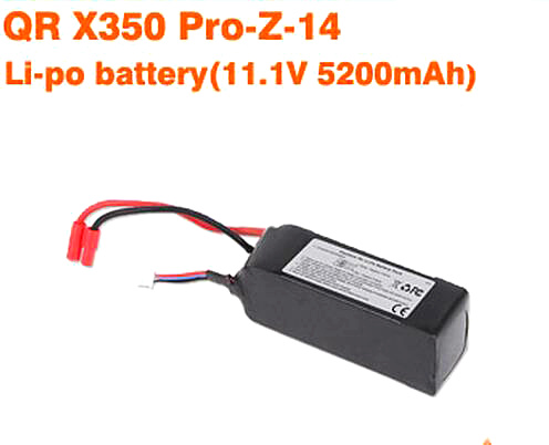 Genuine Walkera QR X350Pro battery 5200mA Walkera QR X350 PRO-Z-14<br><br>Aliexpress