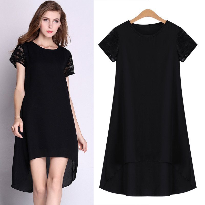 Casual-Black-Dress-Plus-size-6XL-women-dress-A-line-short-sleeve-dress-JLY8061.jpg