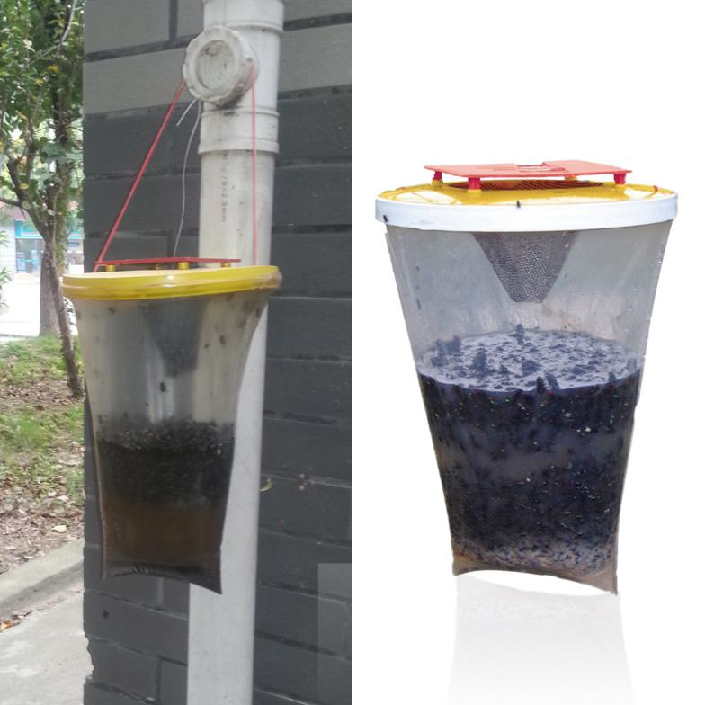 New arrival fully functional Environmental Flies be Gone Non Toxic Fly Trap Flies Away For Home and Camping promotion hot sale(China (Mainland))