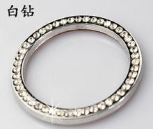5 pcs Fre shipping  Key start switch diamond decoration ring ,refires key ignition circle for VW peuge0t Audi Skoda (China (Mainland))