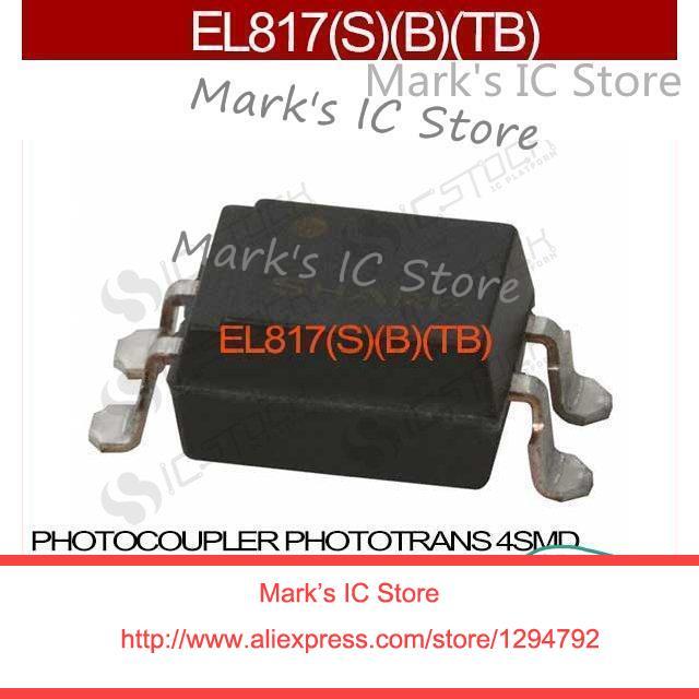 EL817, S, B, TB PHOTOCOUPLER PHOTOTRANS 4SMD EL817, B, TB 817 817 (L817 EL817 817, B, TB