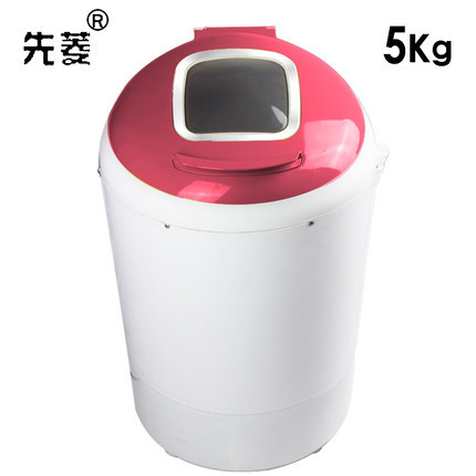 Freeshipping 300w power washer can wash 5kg clothes + 300w power dryer single tub top loading wahser&dryer Semi automatic(China (Mainland))
