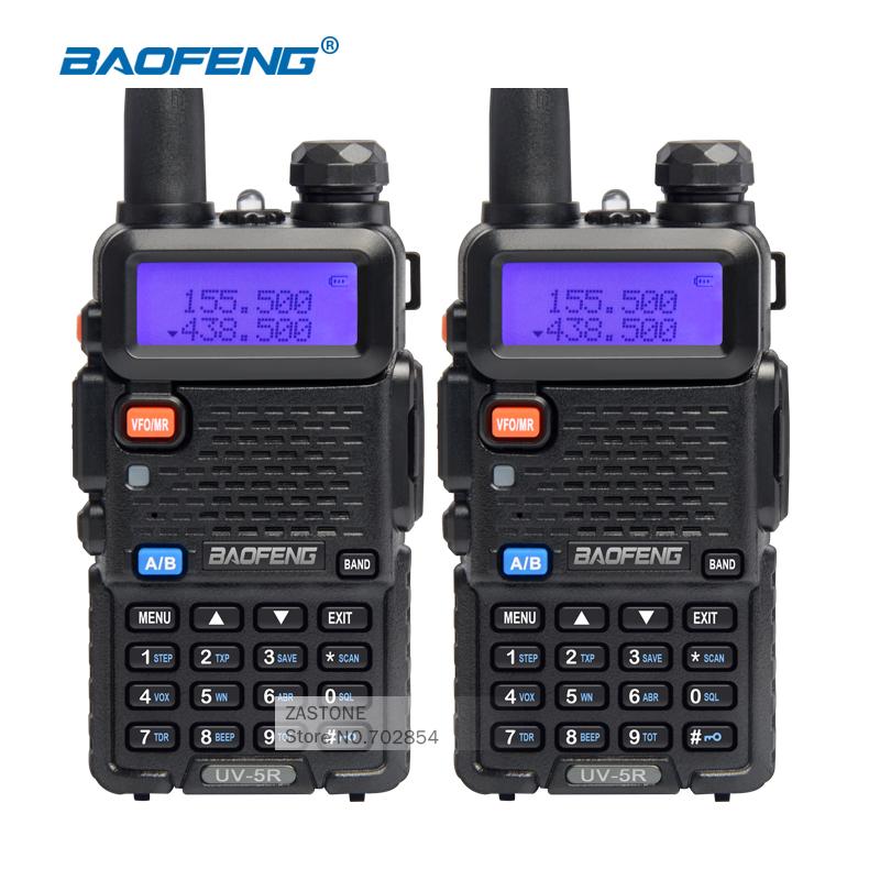BaoFeng UV-5R walkie taklie transceiver Dual Band Two Way Radio Portable Radio Communication Equipment Handheld Walkie Talkie(China (Mainland))