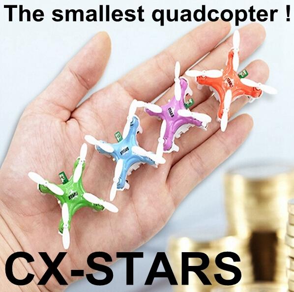 Original Cheerson CX-Stars The World Smallest Remote Control RC Mini Drone Helicopter Quadcopter Toys VS mjx x101 x600 x800 x400(China (Mainland))