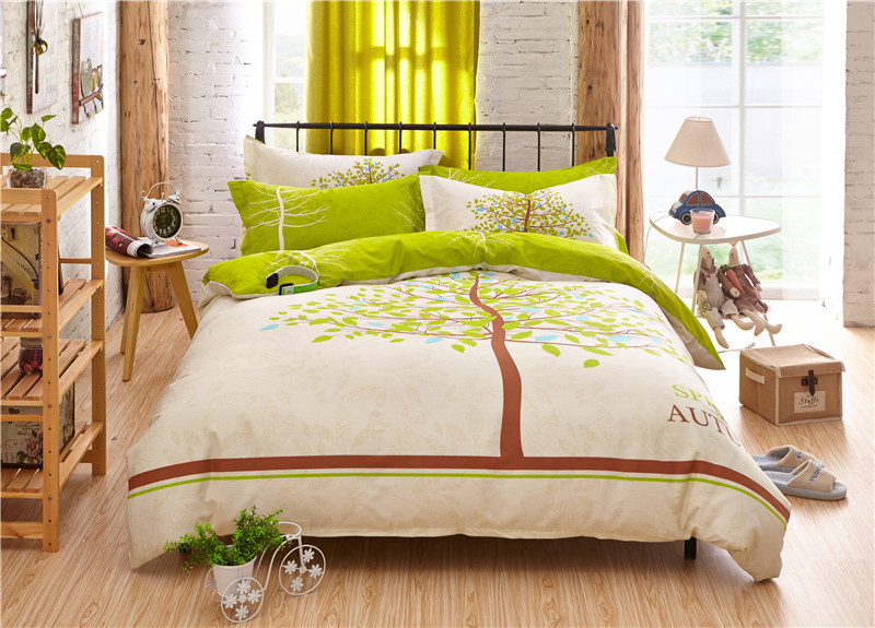 Popular Bright Green Bedding Buy Cheap Bright Green