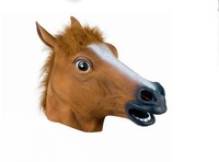 B085 Halloween Costume Festival mask COS play Horse Mask