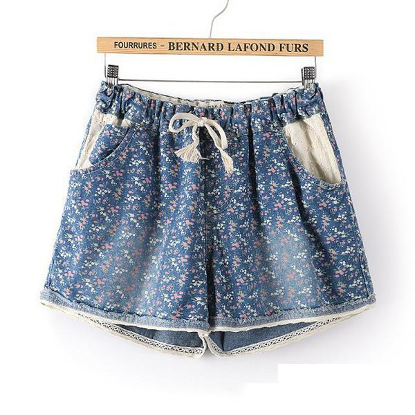 2015 New skirt female denim shorts high waisted summer hot jeans women Shorts weight loss - Adult Products shops store