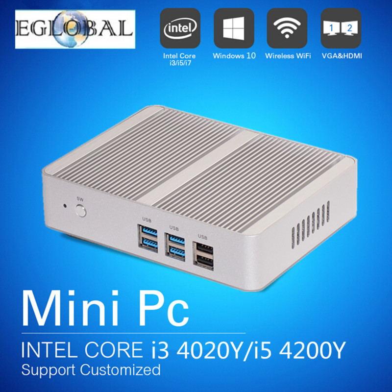 Eglobal Cheap Mini Pc 4G RAM 128G SSD with 5th Gen Intel 14nm Quad Core N3150 Processor desktop pc Intel SOC/Haswell Nuc HTPC(China (Mainland))