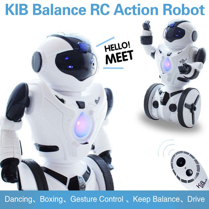 JXD 2.4GHz Radio Balance G-Sensor RC Dancing Drive Battle Action Robot(China (Mainland))