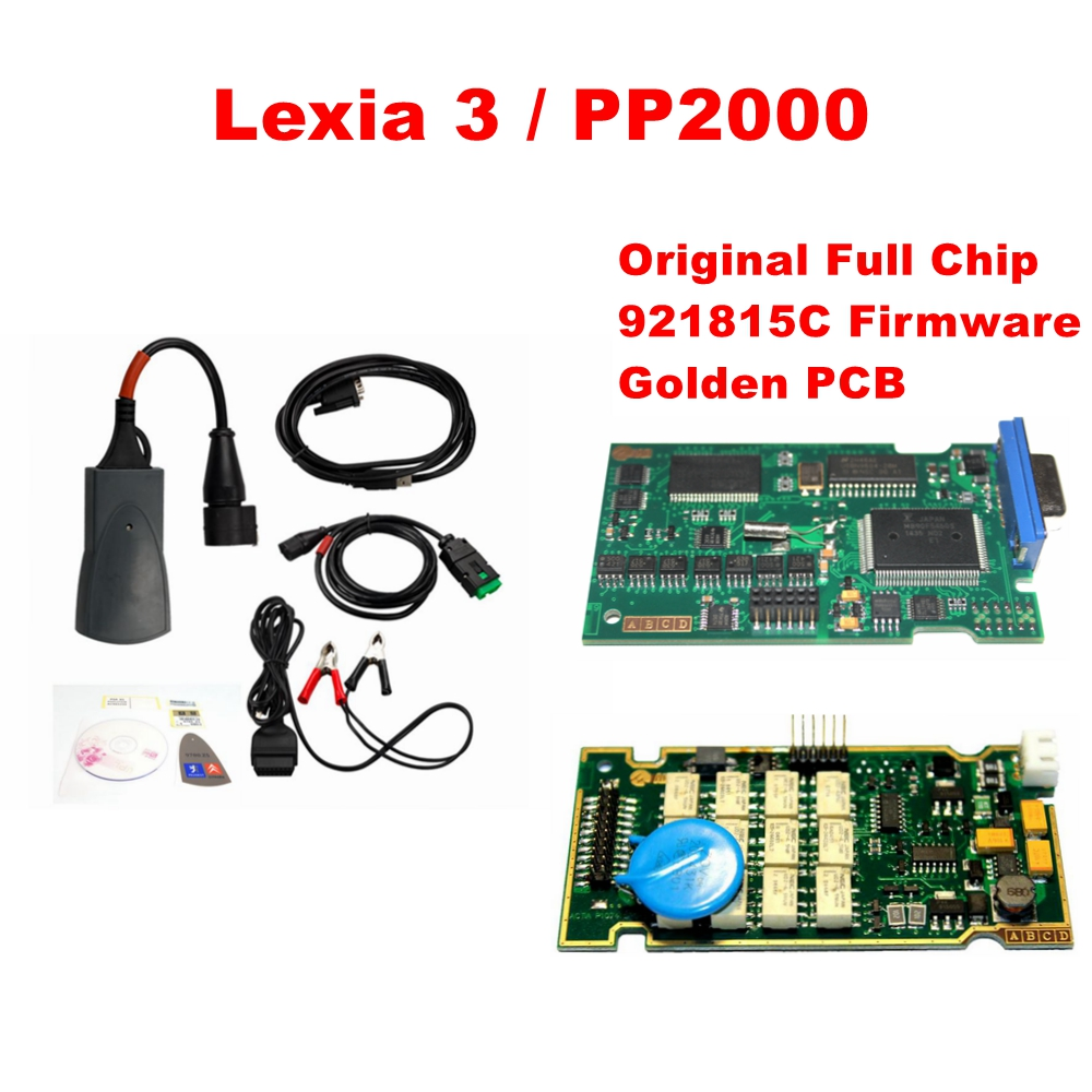 2016 Newest lexia with Diagbox V7.83 FW 921815C and Orignal Full Chip Full Function Lexia3 PP2000 Lexia 3 V48 V25 Lexia-3(China (Mainland))
