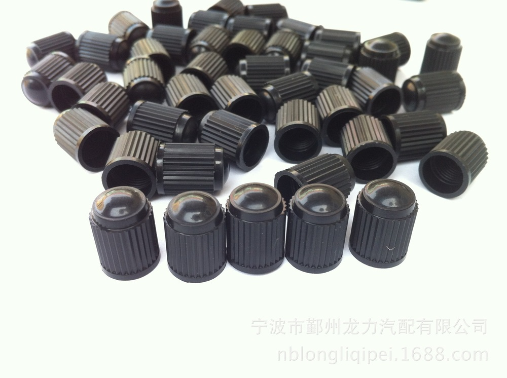 1000pcs/lot Black Plastic Valve Dust Caps Valves Cap for Car Bike Van Tyre Tubes(China (Mainland))