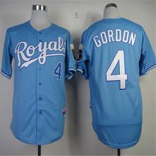 16 Bo Jackson Royals jersey KC 5 George Brett Baseball alvador Perez Kansas City Royals 35 Eric Hosmer Jerseys(China (Mainland))