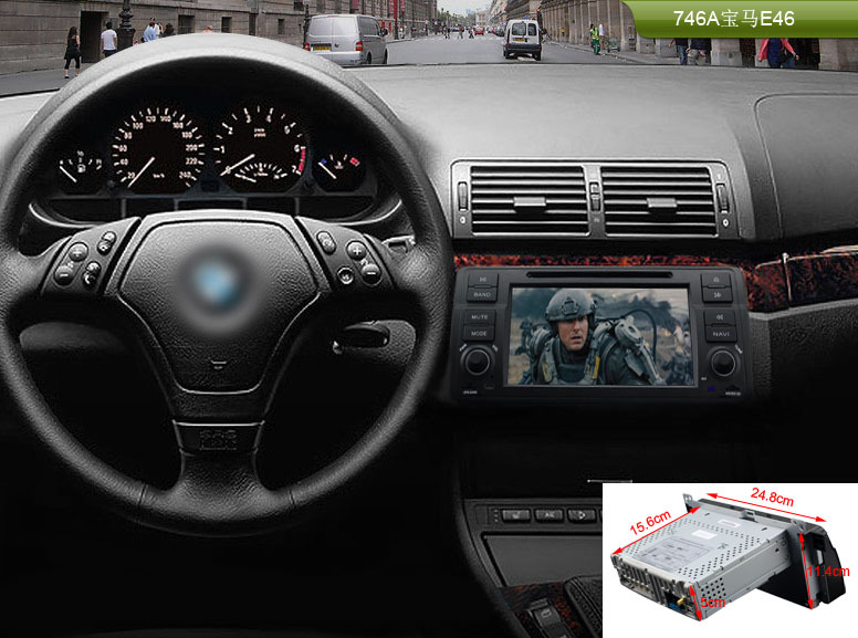 7 Android 4 4 4 OS Wifi 3G Car DVD Player GPS Nav for BMW 3